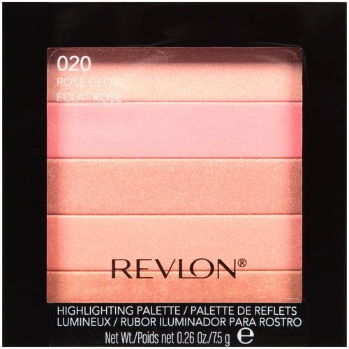 Prettiest drugstore highlighter yet? Revlon Highlighting Palette in 020 Rose Glow