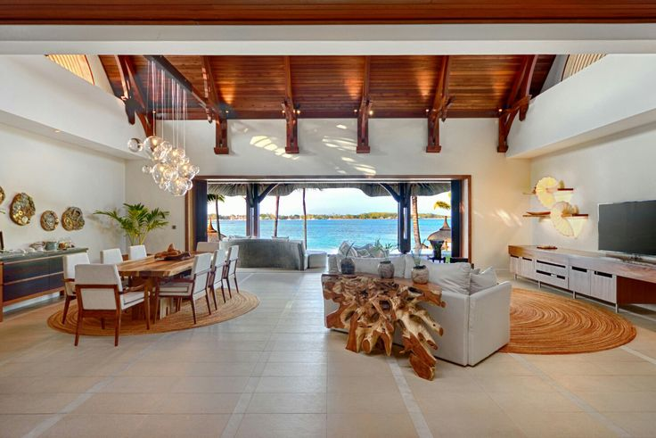 Dreaming of a romantic honeymoon in Mauritius in sheer luxury and privacy?  The Beach Villa is where you want to be with your ❤ Book now:  hello@authentick.travel  World Leisure Holidays #Mauritius #LeTouessrok #love #romance #couples #villa #beach #ocean