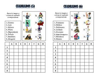 spanish jobs 12 spanish spanish unit spanish english unit professions ...