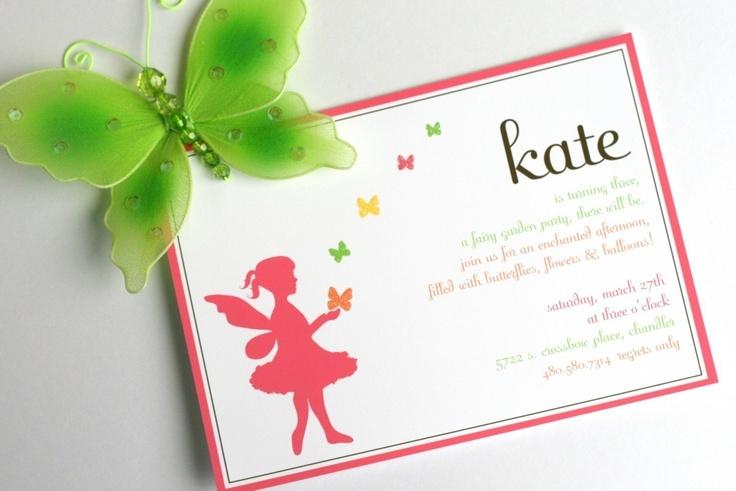 Watch more like Fairy Tea Party Birthday Invitation Wording – Garden Party Invitation Wording