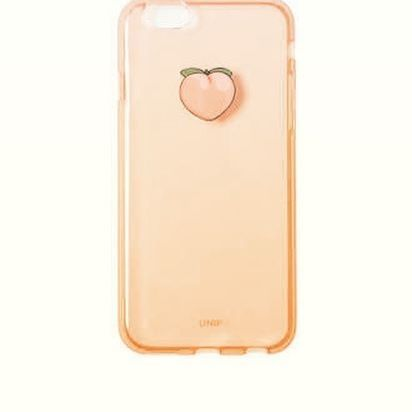 SOLD OUT! Peach emoji iPhone 6 case from unifclothing.com 🍑