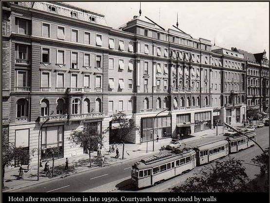 #ThrowbackThursday. Our hotel in 1957. But where are the atriums? Do you know what was the function of the building in this year?