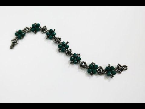 Anlatımlı Kristal Bileklik Yapımı - YouTube
