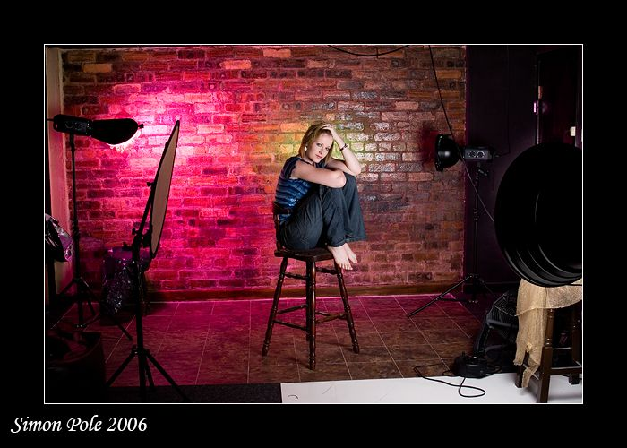 Title: Studio Lighting 3 For : Photography Copyright Simon Pole lighting module Copyright Kevin Kertz This may be downloaded and used for reference purpose. Unfortunately, the host has removed the ...