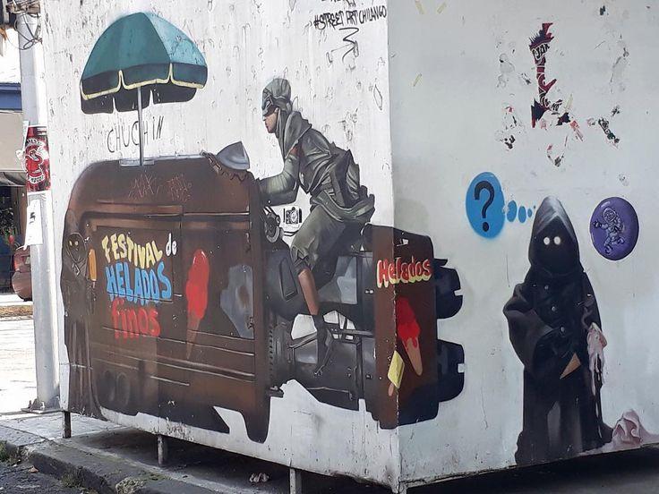 Nice street Art  #darthvader #blackseries #stormtrooper #jedi #sith  #lego #starwarsfan #yoda #art #r2d2 #hansolo #bobafett #lukeskywalker #geek #forcefriday #cosplay #darkside #chewbacca #nerd #lightsaber #toys #theforce #instagood #kyloren #thelastjedi #c3po #Cody #Clone #clonewars #toptoyphotos