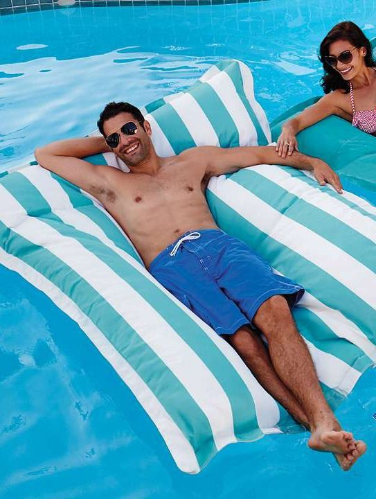 Before summer runs out, soak up the sun and enjoy your pool from atop the Luxe Edition Kai Float; a quick-drying and mildew resistant float that will last for summers to come.King Kai, Luxe Editing, Editing Kai, Beach Pools, Editing King, Kai Floating, Backyards Fun, Pools Floating, Floating Beanbag