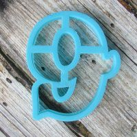 """Cookie cutter """" Number 9 """" 10 cm"""