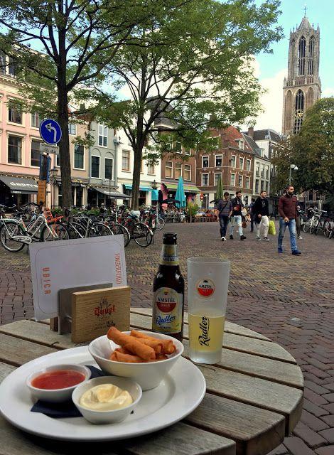 Cafe terracing in Utrecht