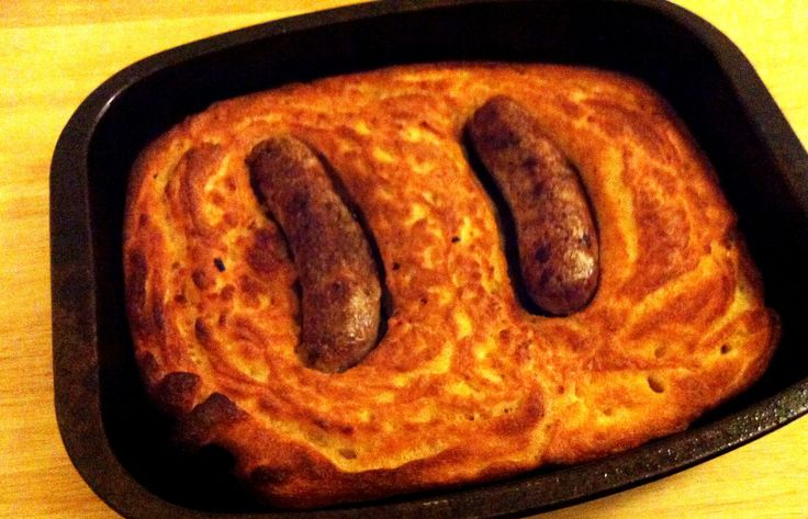 Gluten Free Toad in the hole recipe, this worked great with a doubled recipe