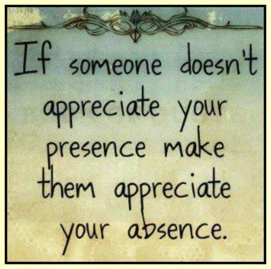 Quotes About Not Being Appreciated Daily Inspiration Quotes