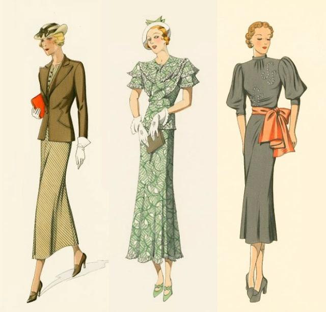 1930s Fashion for Women