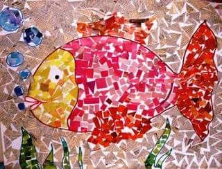 fish-paper-mosaic-crafts-for-kids « funnycrafts