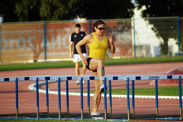 Priscilla Lopes Schliep - Hurdles