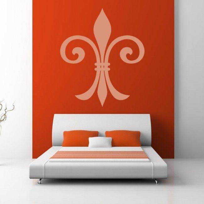 Bold Fleur De Lys Wall Sticker. Http://walliv.com/bold Part 92