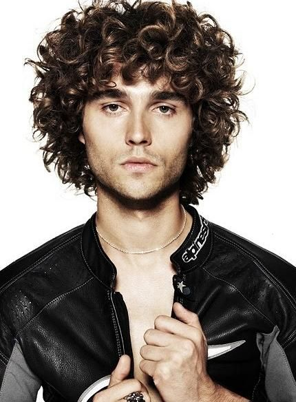 Cool Hairstyles For Men With Curly Hair Styles Pinterest Hair