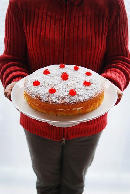 photo and food - pan di spagna
