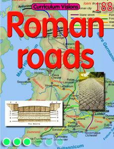 Explore the impact the Romans had on Britain through their road network as part of a KS2 topic on the Romans