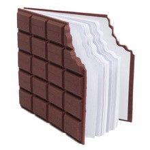CzekoAda: Czekoladowa wyprawka szkolna - czekoladowy notes