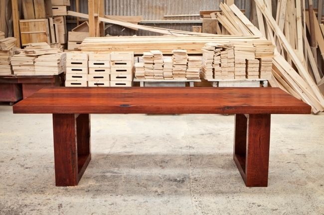 cathedral rock solid jarrah timber dining table seriously