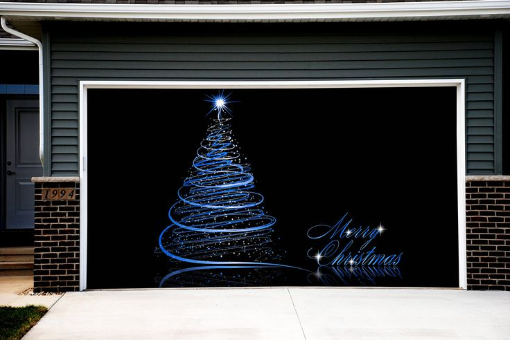 38 best Christmas decorations for garage door images on