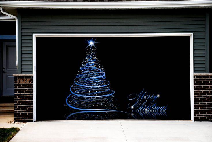 38 best Christmas decorations for garage door images on