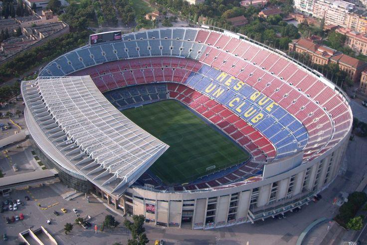 Camp Nou (New Field) - FC Barcelona stadium. Just stunning had the pleasure to visit it!