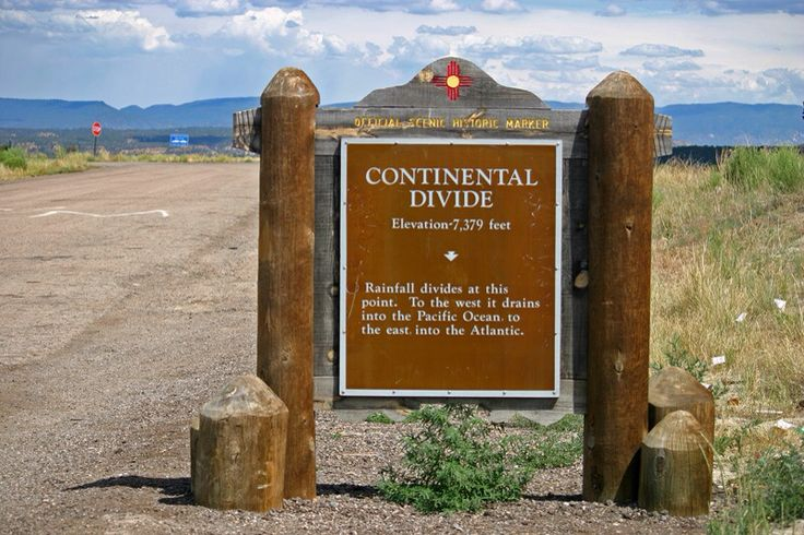Contenintal Divide - New Mexico, east of Gallup