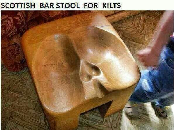 Scottish Bar Stool For Kilts Irish Scottish 1bamf
