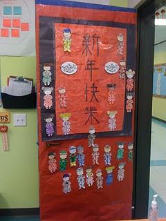 Chinese New Year Door Decoration | Chinese new year ...