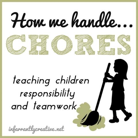 Kids and Parenting | Here is an update on how we handle chores with a 6- and 9-year-old child