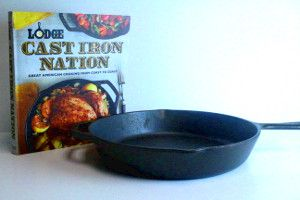 "Win a 12"" Lodge Cast Iron Skillet and our latest cookbook, Cast Iron Nation, from AllFreeCasseroleRecipes. Deadline is June 1st, 2014."