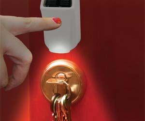 Solar Touch Keyhole Light $16.98Keys Hole, Home Gadgets, Trav'Lin Lights, Night Lights, Keyhole Illuminated, Solar Touch Keyhole Lights, Dreams House, Keys Lights, 2250 Keyhole