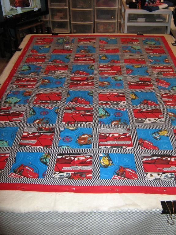 Disney Cars Quiltnew - via @Craftsy