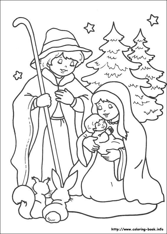 86 best coloring pages images on pinterest | drawings, coloring ... - Coloring Pages Christmas Jesus