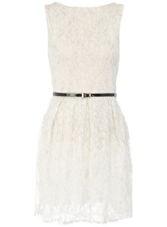 lace dress / dorothy perkins