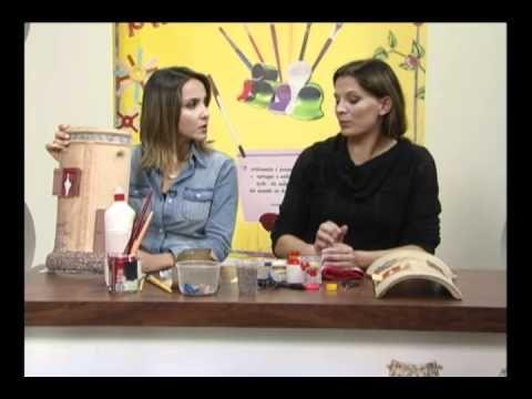 Curso de Decoración de Tejas de las Amas de Casa - YouTube