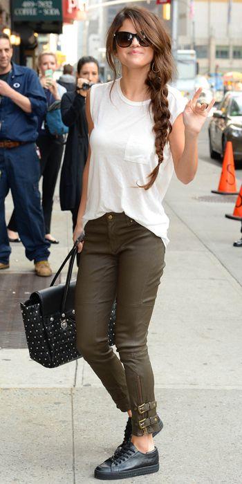 9 Best Street Style Looks of 2013   InStyle.com Selena Gomez