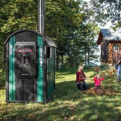 Outdoor Wood-Burning Furnace: What You Need to Know - Farm and Garden - GRIT