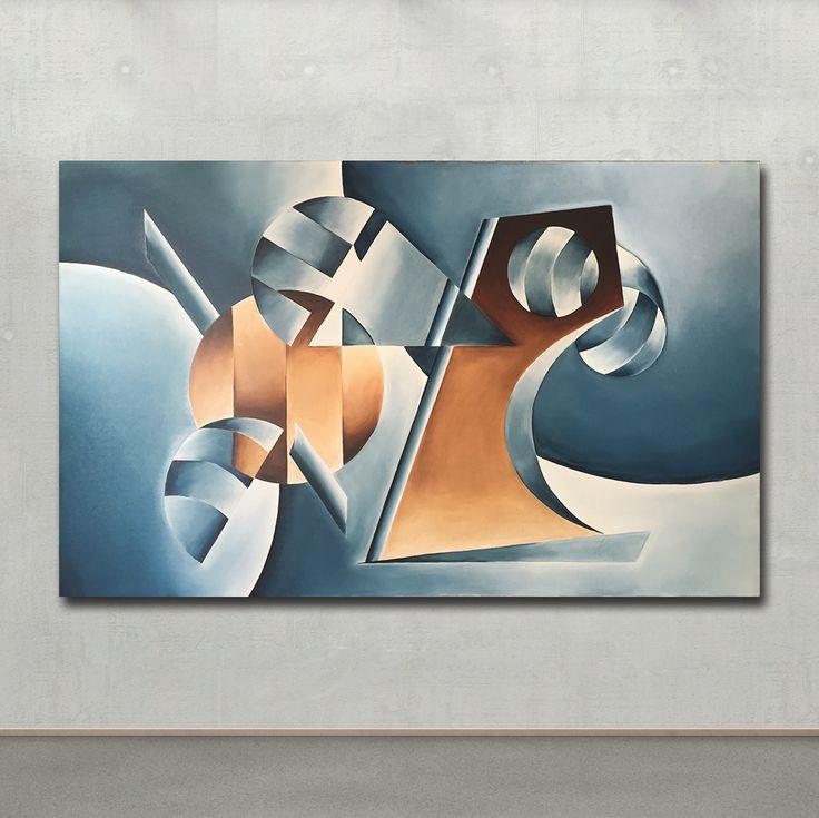 Art, Painting Lagoon by DavidKounovsky