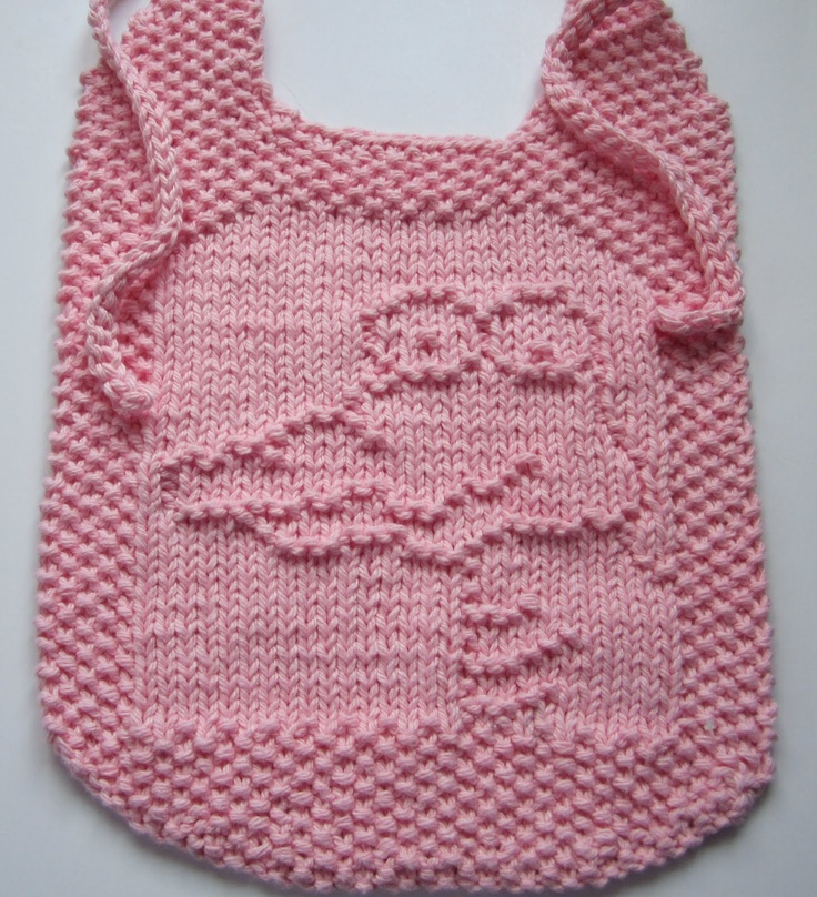 Infinity Scarf Free Knitting Patterns : Fred the Croc Bib.FREE download under picture. Kids/Baby Knitting Patterns ...