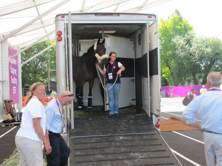 First Team on the Ground – Eventing!