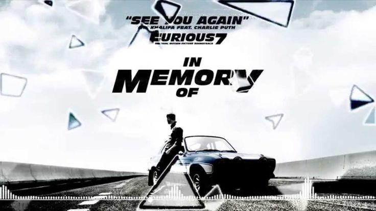 ▶[Nightcore] ★ See You Again ★【 In Memory of PAUL WALKER 】★ Fast and Fur...