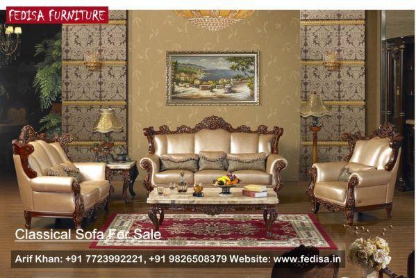 Classic Italian Furniture Living Room Classic Sofa Set