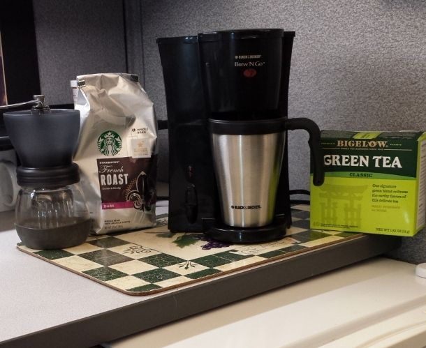 Tips – Create a Coffee and Tea Corner in your Office ...