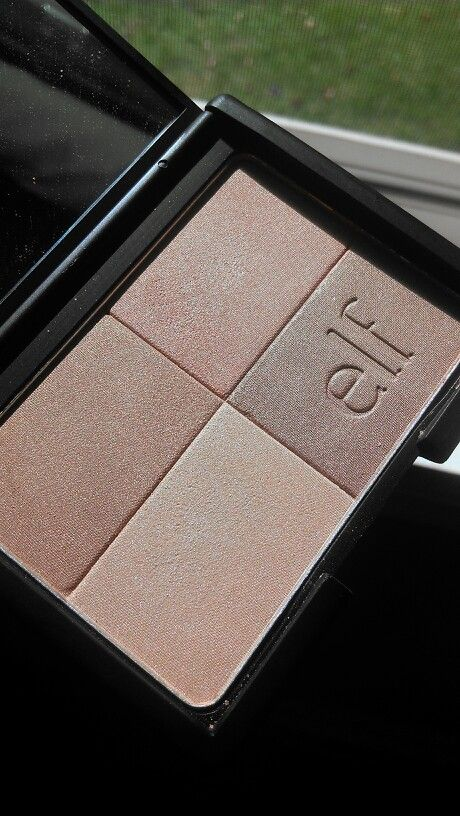 Elf golden bronzer is a dupe for dior's amber diamond
