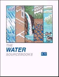 he Water Sourcebooks contain 324 activities for grades K-12 divided into four sections: K-2, 3-5, 5-8, and 9-12. Each section is divided into five chapters: Introduction to Water, Drinking Water and Wastewater Treatment, Surface Water Resources, Ground Water Resources, and Wetlands and Coastal Waters.