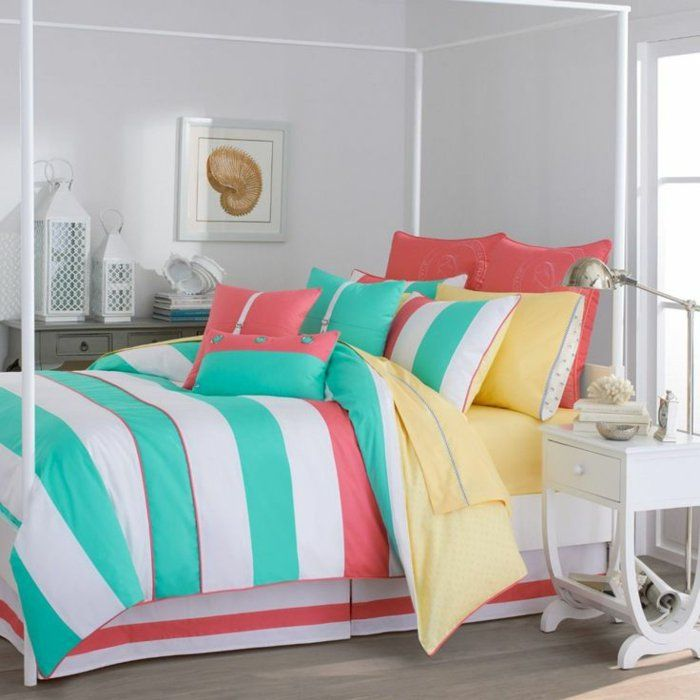 Les 25 meilleures id es de la cat gorie chambres de filles for Decoration de chambre turquoise