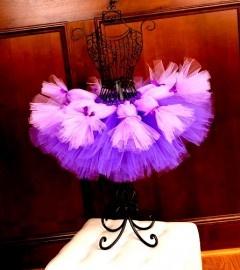 Lavender Bliss Ribbon Tied Layered Girls Tutu Skirt | Tutu rokken | Welkom bij DreamBeebz
