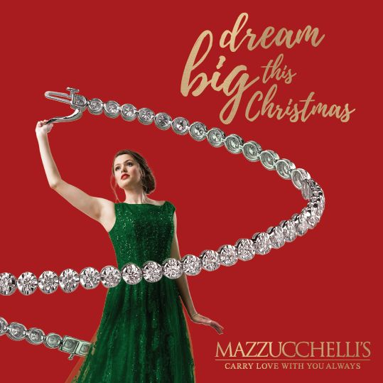 Dream BIG this Christmas with Mazzucchelli's. Find gorgeous gift ideas in our Christmas Gift Guide. Pick one up at your nearest Mazzucchelli's store or view on our website. #mazzucchellis #jeweller #jewellery #mazzucchellisjeweller #australianjeweller #adelaidejeweller #sydneyjeweller #melbournejeweller #canberrajeweller #perthjeweller #christmas #xmas #christmasgifts #christmaspresents #giftsforhim #giftsforher #diamond #diamonds #diamondring #diamondjewellery