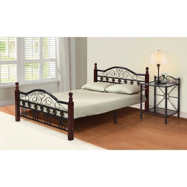 25 best ideas about metal bed frames on pinterest metal beds iron bed frames and iron. Black Bedroom Furniture Sets. Home Design Ideas